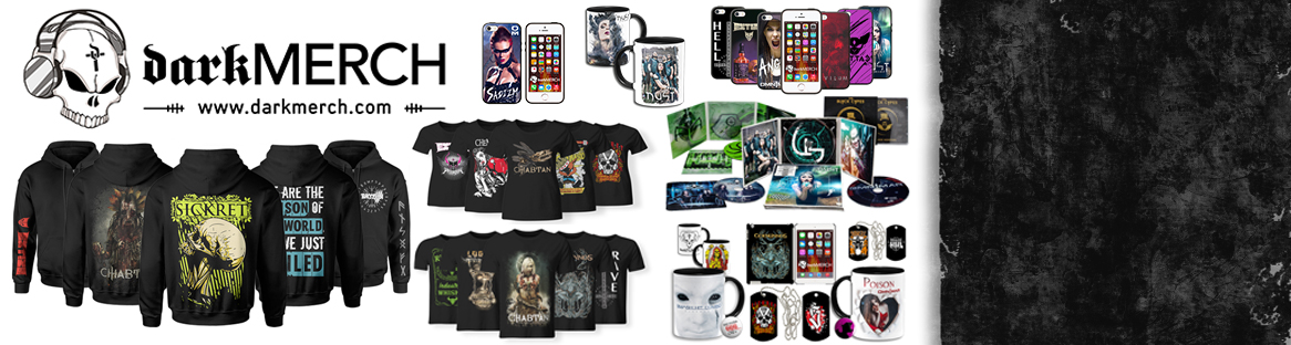 DARKMERCH - Our new online store!